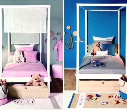 kinderzimmer m dchen blau. Black Bedroom Furniture Sets. Home Design Ideas