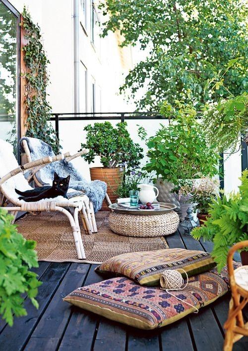 kleiner balkon ideen. Black Bedroom Furniture Sets. Home Design Ideas