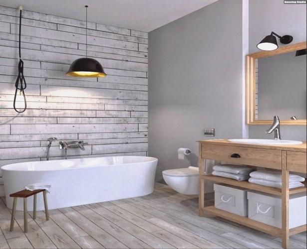 Kleines bad ohne fliesen for Badezimmer wandbelag