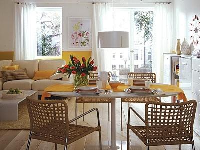 Kleines wohnzimmer mit essbereich einrichten - Landhausmobel bayern ...