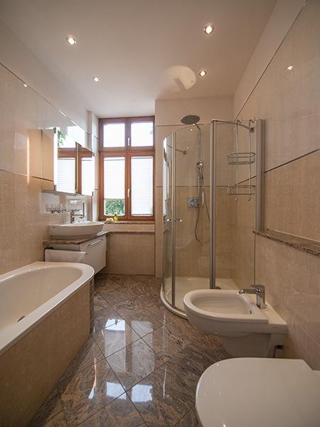 komplett badezimmer renovierung