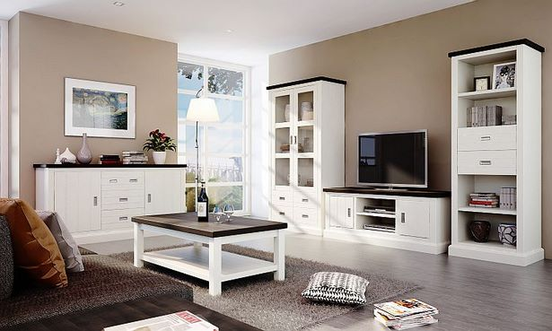 m bel landhausstil wohnzimmer. Black Bedroom Furniture Sets. Home Design Ideas