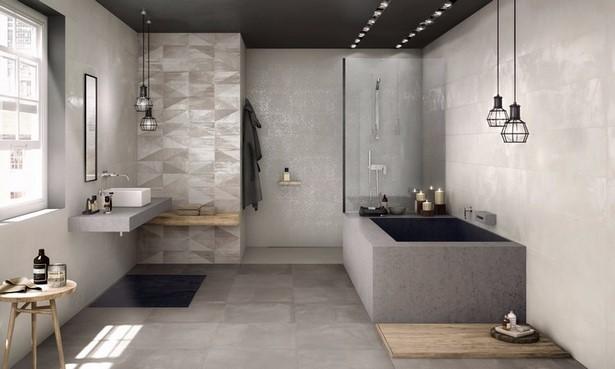 Moderne b der gefliest for Fliesengestaltung dusche