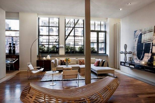 moderne wohnr ume. Black Bedroom Furniture Sets. Home Design Ideas
