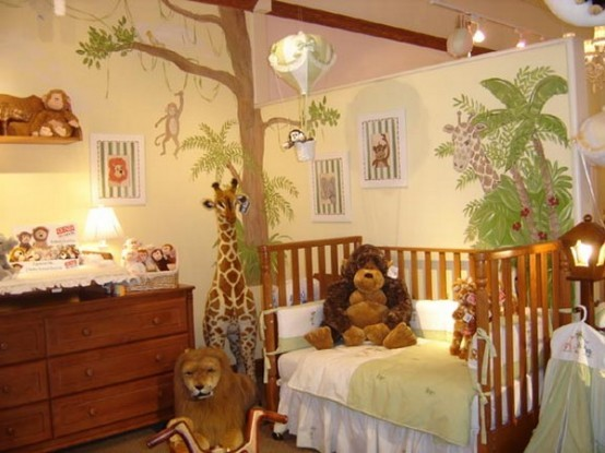 Safari kinderzimmer dekoration for Kinderzimmer dekoration