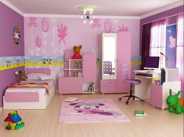 Sch ne kinderzimmer f r m dchen for Kinderzimmer madchen rosa