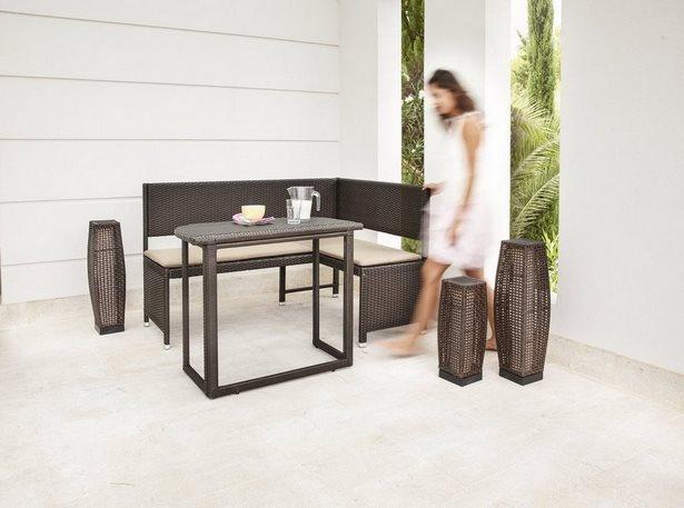 sitzecke f r kleinen balkon. Black Bedroom Furniture Sets. Home Design Ideas