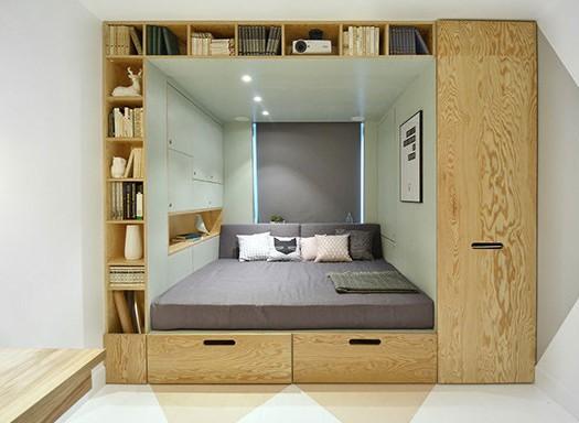 Studentenzimmer einrichten ideen for Jugendzimmer mit doppelbett
