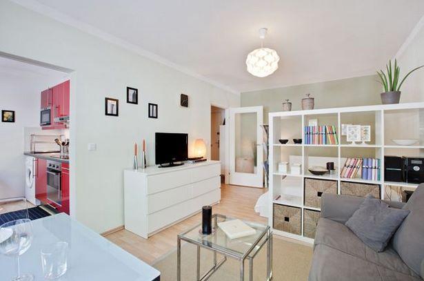 Wohn und schlafzimmer in einem einrichten for Decoracion para apartaestudios