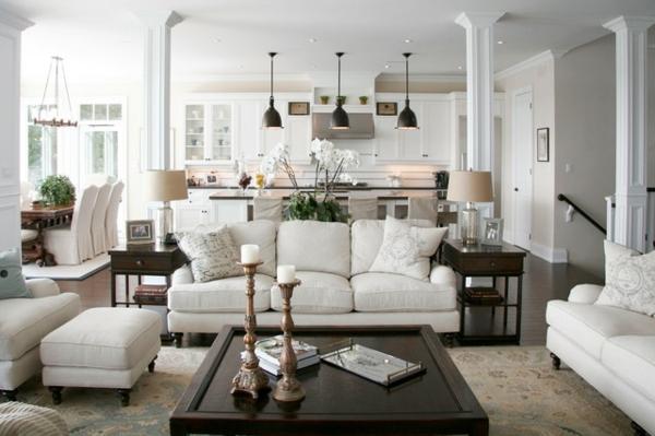 wohnzimmer sch n dekorieren. Black Bedroom Furniture Sets. Home Design Ideas