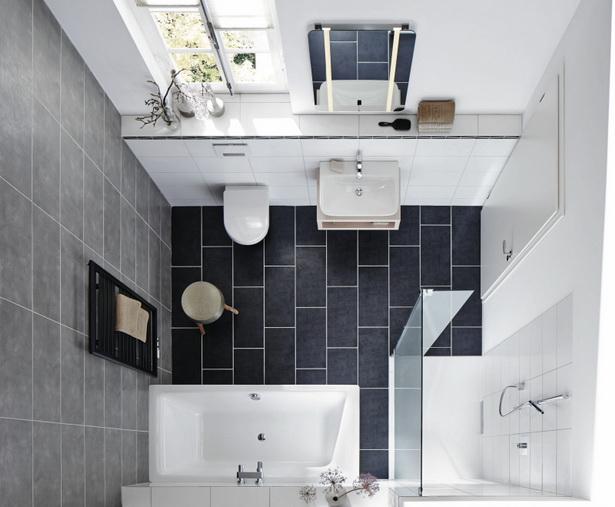 badezimmer ideen f r kleine r ume. Black Bedroom Furniture Sets. Home Design Ideas