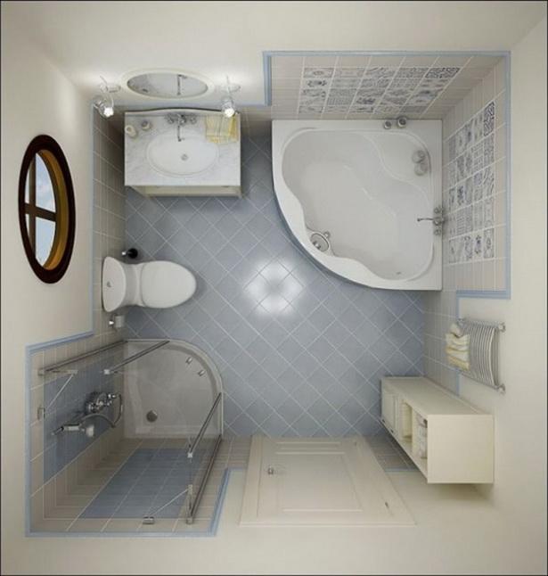 Badezimmer Gestaltungsideen Kleine Bader Eckbadewanne Lage Badmoebel