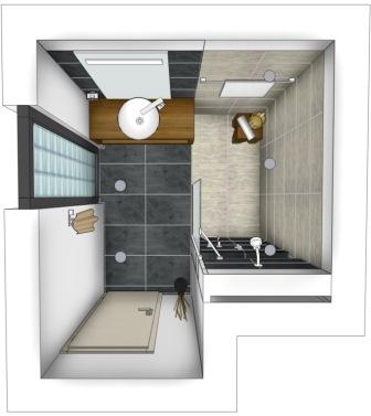 badvorschl ge f r kleine b der. Black Bedroom Furniture Sets. Home Design Ideas