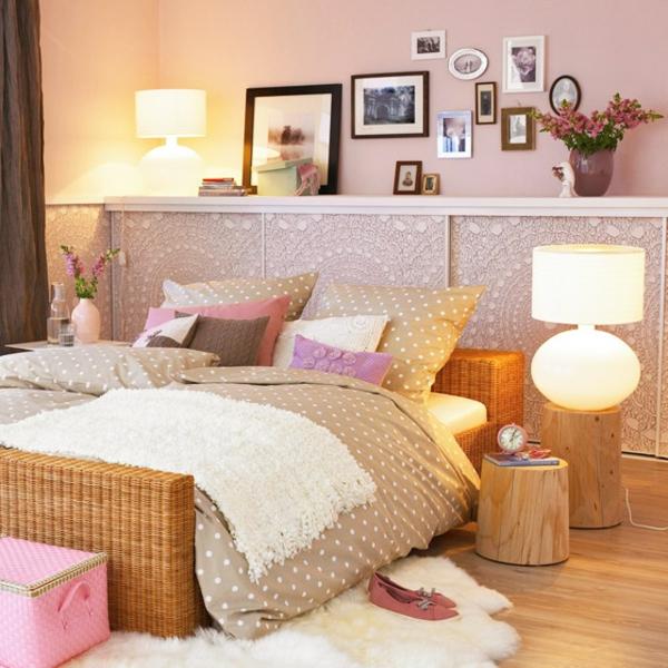 Brauntöne Machen Das Schlafzimmer Gemütlich: Bett Gemütlich Machen