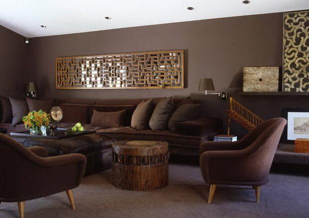 Braune wohnzimmer ideen