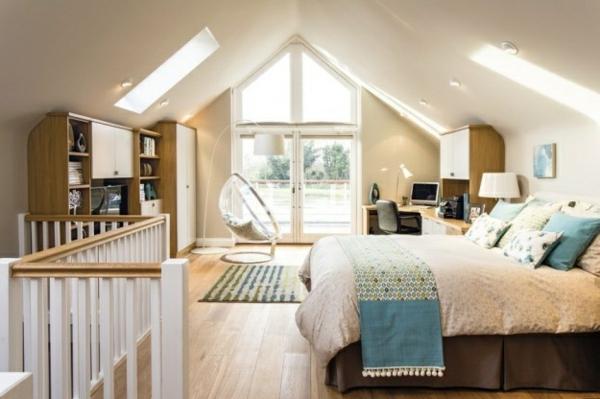 Dach schlafzimmer einrichten