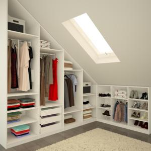 Dachschräge gestalten schlafzimmer