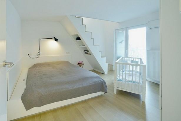 Dachschräge schlafzimmer gestalten