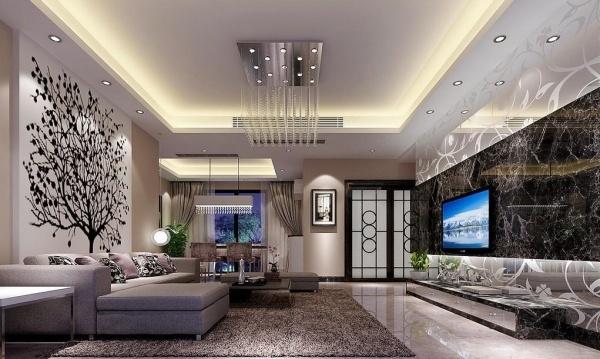 Decke wohnzimmer gestalten