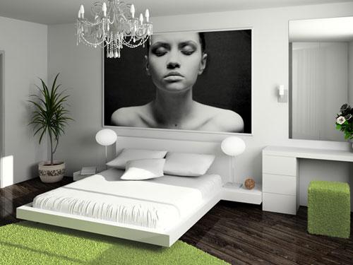 Schlafzimmer Deko Ideen dekoration im schlafzimmer