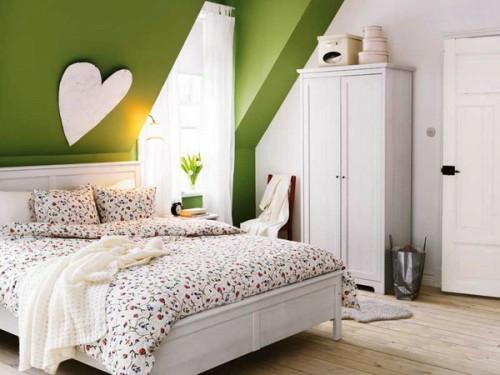 Dekoration schlafzimmer wand