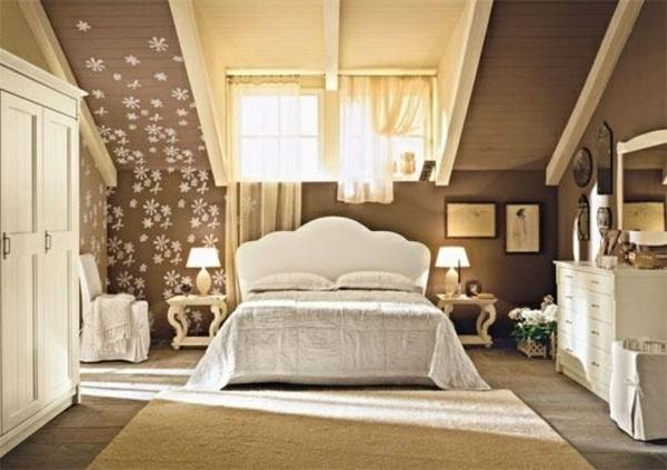 einrichtungsideen schlafzimmer mit dachschr ge. Black Bedroom Furniture Sets. Home Design Ideas