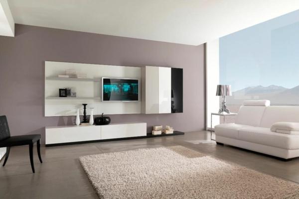 Einrichtungsideen wohnzimmer farbe