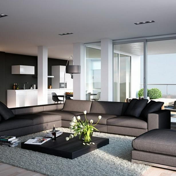 Beautiful Wohnzimmer Grau Sofa Pictures - Milbank.us - milbank.us
