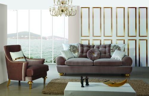 Elegante möbel wohnzimmer