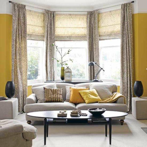 Gardinen ideen für wohnzimmer