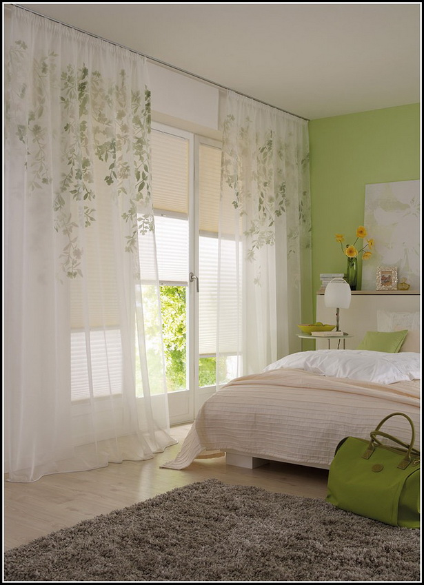 Gardinen schlafzimmer ideen