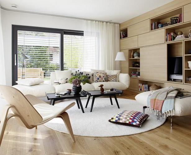 Schöner Wohnen Living At Home gardinen wohnzimmer schöner wohnen