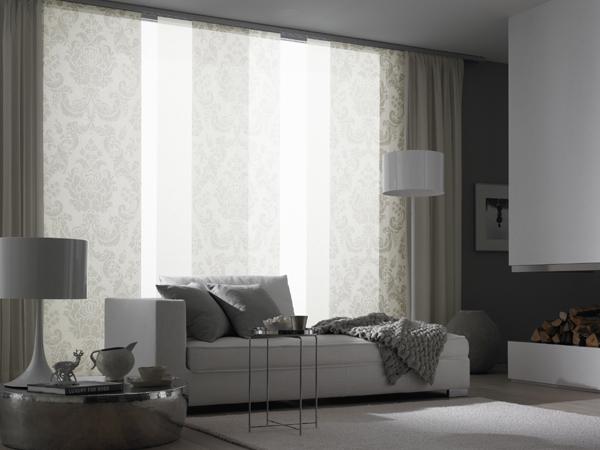 gardinen wohnzimmer sch ner wohnen. Black Bedroom Furniture Sets. Home Design Ideas