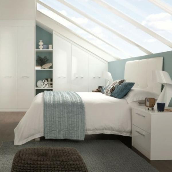 Tapeten Für Schlafzimmer Mit Dachschräge: Gestaltung Schlafzimmer Mit Dachschräge