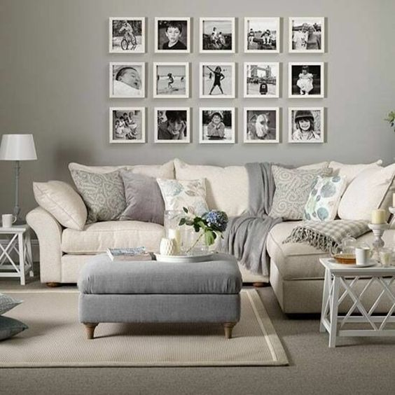 Wandgestaltung Wohnzimmer U2013 20 Kreative Wanddeko Ideen
