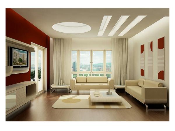 Gestaltungsideen wohnzimmer wände