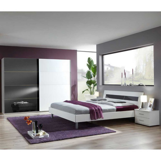 grau wei schlafzimmer. Black Bedroom Furniture Sets. Home Design Ideas