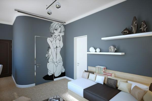 Ideen wandfarbe schlafzimmer