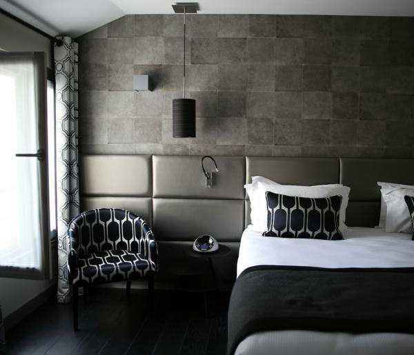 Innenarchitektur Inspirierend Taupe Wandfarbe Beispiele: Ideen Wandgestaltung Farbe Schlafzimmer