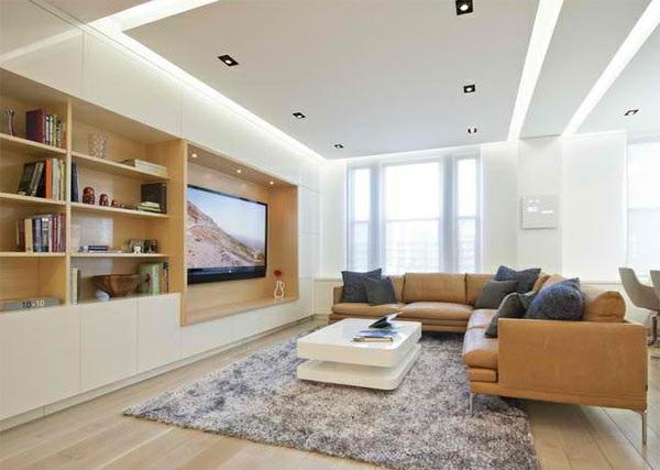 Innenarchitektur wohnzimmer beispiele