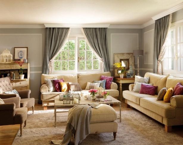 Landhausstil wohnzimmer ideen