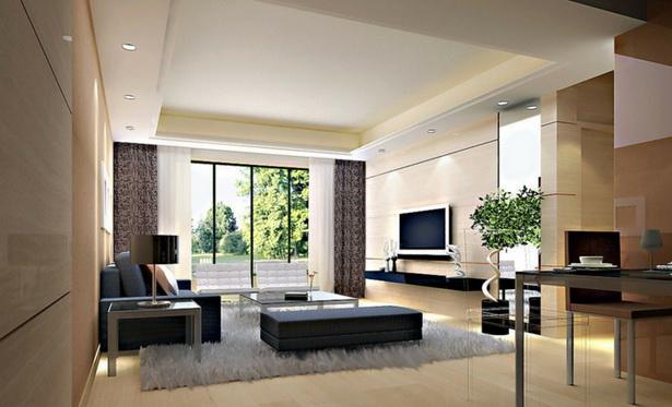 Moderne Inneneinrichtung Wohnzimmer
