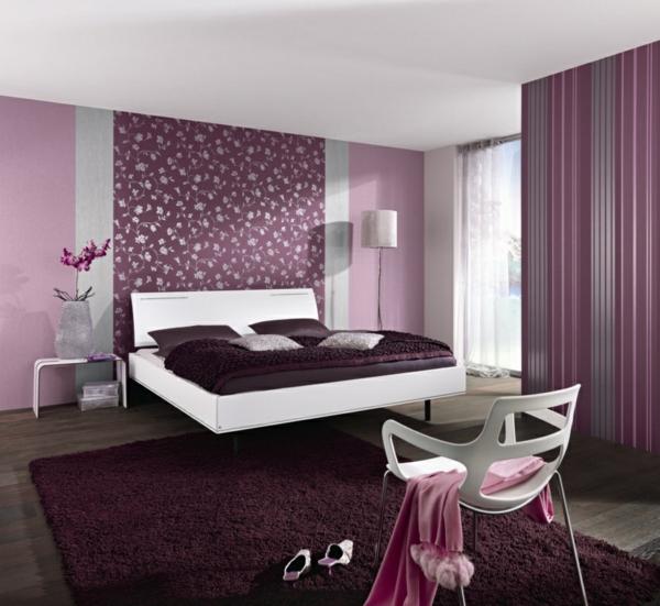 Moderne wandfarben für schlafzimmer