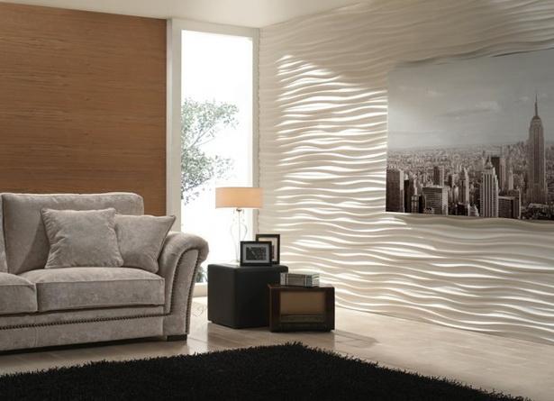 Moderne wohnzimmer wandgestaltung