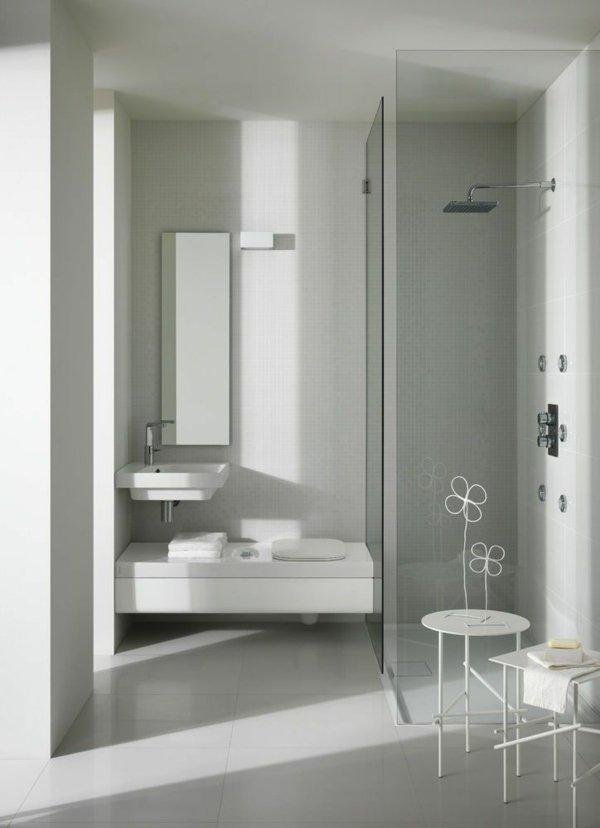 Modernes kleines bad