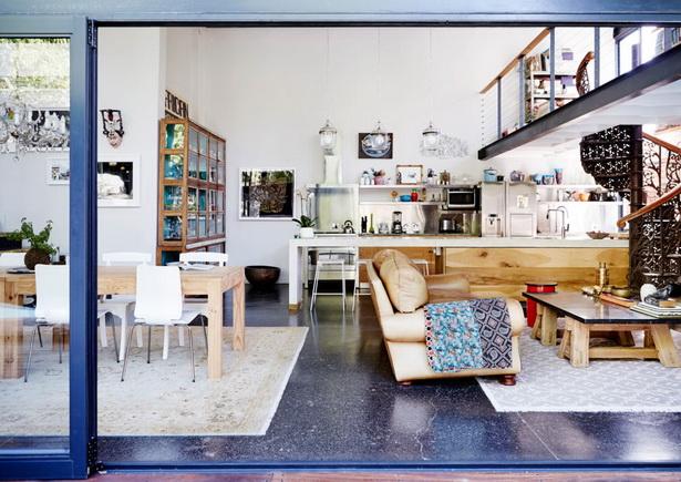 Offenes Wohnzimmer Mit Galerie