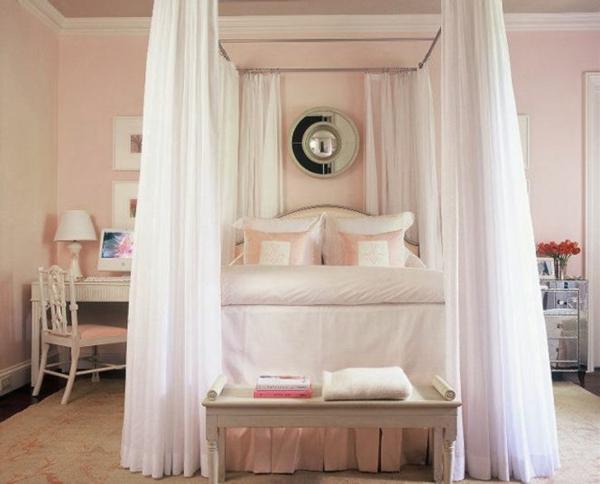 rosa schlafzimmer gestalten. Black Bedroom Furniture Sets. Home Design Ideas