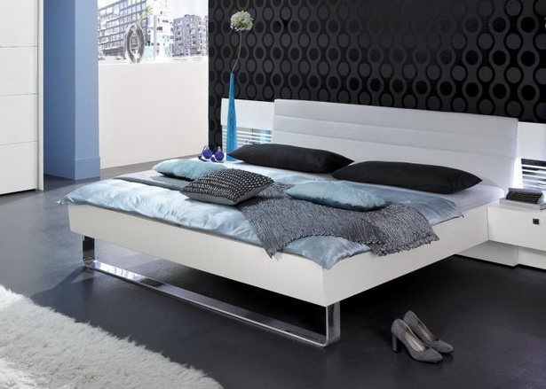 Schlafzimmer bett weiss