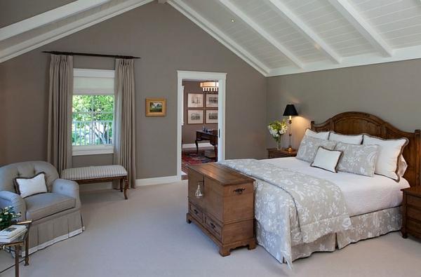 Schlafzimmer einrichten dachschräge