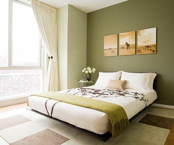 Schlafzimmer gestalten grün